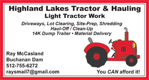 Highland Lakes Tractor and Hauling