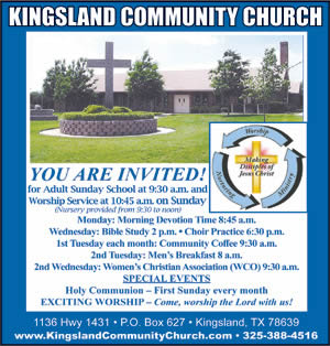 Kingsland Community Church