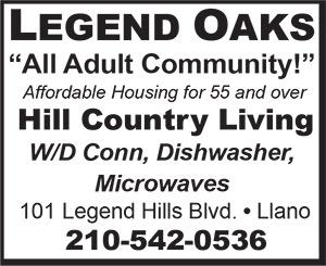 Legend Oaks