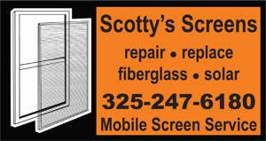 Scotty's Screens